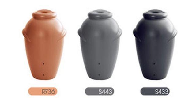 Zbiornik na deszczówkę Aqua can kolory: ceglasty grafit antracyt