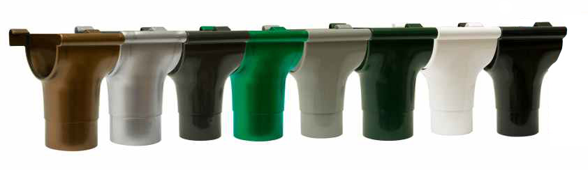 Rynny Marley Continental paleta kolorów: brąz, grafit, szary, czarny, srebrny, miedź, zielony