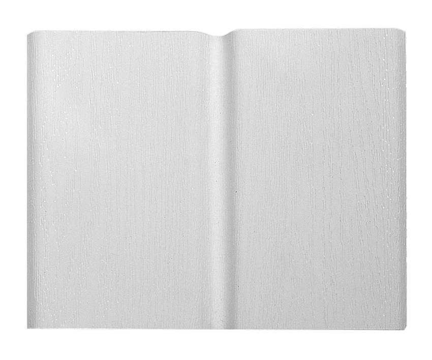 Wysokiej jakości podbitka podsufitka dachowa PCV w kolorze białym RAL 9010 Izabella