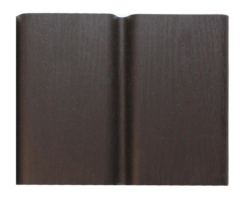 Wysokiej jakości podbitka podsufitka dachowa PCV w kolorze ciemny brąz RAL 8019 Izabella