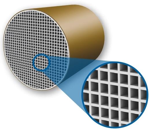 Ceramiczny wymiennik ciepła rekuperator MEnV180 marley wysoka efektowność