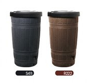 Zbiornik na deszczówkę Woodcan kolory: brązowy lub czarny